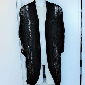 Nwt Torrid Black Cocoon Open weave Cardigan 1 $49